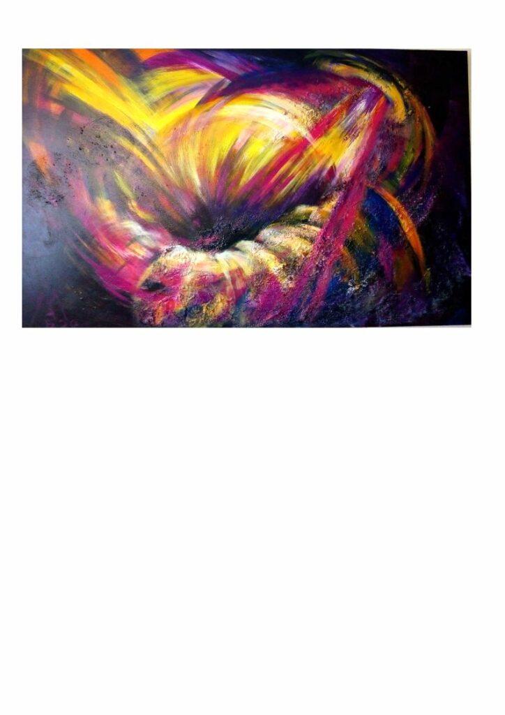 Dynamik1 Acryl auf Leinwand 160 x 100 cm