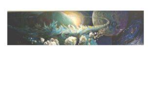 Acryl auf Leinwand – 117 x 30 cm